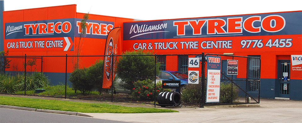 Our car, truck & tyre facility